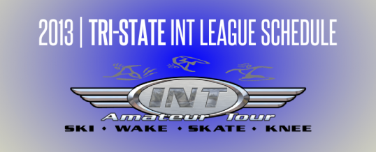 2013 Tri-State INT League Schedule
