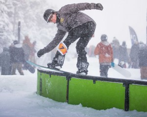 killington loaded turkey railjam